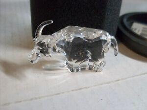 Swarovski  Crystal Zodiac Ox with Box & Paperwork