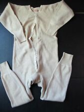 Vintage 20s 30s Jc Penney Co union suit Long Johns long sleeve