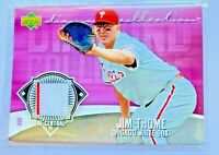 Jim Thome 2006 Upper Deck Authentic Game Used Jersey Card #DC-JT