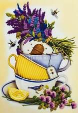 Embroidery Kit Lavender Tea