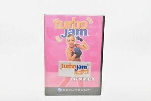 Lot of 4 BeachBody Turbo Jam DVDs Brand New Sealed Workout 2006