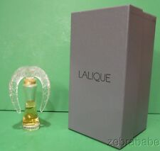 Lalique Annual Perfume Bottle 2012 Ltd Edition Sillage (Factice)