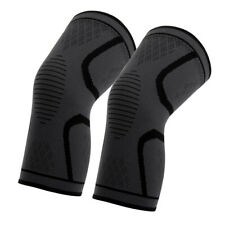 2 pcs Sport Neoprene Patella Knee Sleeve Brace Compression Support Pain Relief