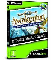 * PC NEW SEALED Game * AWAKENING The Goblin Kingdom * Hidden Object Game