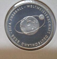 10 Euro Silbermünze FIFA Fußball-Weltmeisterschaft Deutschland 2. Ausgabe *2004*