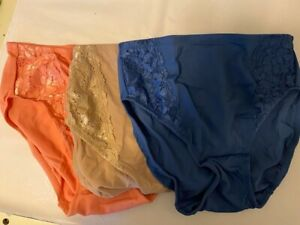 BREEZIES Soft Support Lace Hi-Cut Panties A351932 - SETS OF TWO OR THREE PAIRS