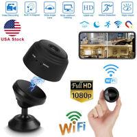 Spy Camera Wireless Hidden WiFi Mini Camera HD 1080P Nanny Cameras Night Vision