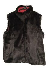 GIACCA GALLERY VEST Faux Fur Mink Feel Reversible COAT JACKET Sexy NEW 60's