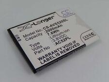 BATTERIA 2000mAh 3.8V Li-ion per Archos 52 Platinum, AC52PL