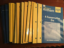 Holt American Anthem Chapter Resource Files -with Answer Keys 2007 USED 17 books