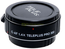 Canon AF moltiplicatore di focale 1,4x Kenko Pro 300 DGX innesto EF x EOS