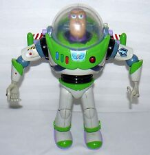 A TOY STORY TALKING BUZZ LIGHT YEAR GREY SUIT BLUE RIB STRAPS Z#1