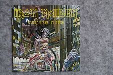 Iron Maiden - Somewhere in Time CD Album signed / autograph / signiert