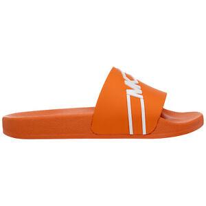 Michael Kors slides men 42S0JSFA4Q877 logo detail rubber shoes slip on sandals