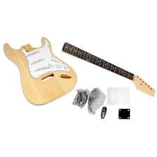 NEW PylePro PGEKT18 Unfinished Strat Electric Guitar Kit - You Build The Guitar