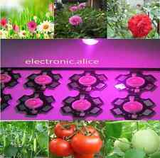 10pc 1watt full spectrum led chip 1w 380nm-840nm Plant grow lights on 20mm pcb