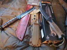 Gerber und Kabar US-Messer