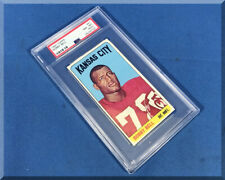 1965 TOPPS AFL FOOTBALL CARD BOBBY BELL #91 DE KANSAS CITY CHIEFS - PSA 8 (ST)