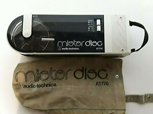 Audio Technica Mister Disc AT770 Record Player