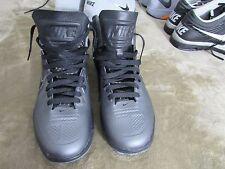 Nike Lunar HyperGamer Men's Basketball Shoes GRAY & BLACK Size 10 469756-007 NEW