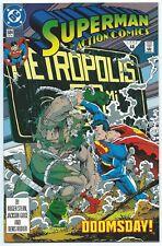 New ListingAction Comics #684 Dec 1992 Dc Nm/Mt 9.8 W Death Of Superman Part 5 Doomsday B/O