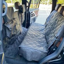 "X-Large Car Seat Cover For Dogs and Pets 56""W Black"