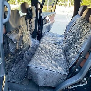 """X-Large Car Seat Cover For Dogs and Pets 56""""W Black"""