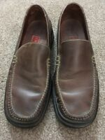 Mens Cole Haan Country Air Brown Leather Slip On Loafers, Size 10.5M CO1073