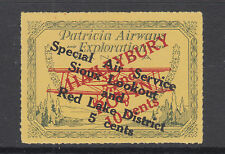Canada Sc CL27 MLH 1926 5c on 10c on 50c Patricia Airways Semi-Official Air Post