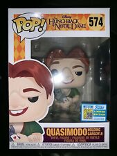 Funko Pop SDCC 2019 Hunchback Notre Dame Quasimodo *Official Sticker* IN HAND