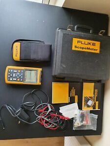 Fluke 123 Scopemeter 20MHz