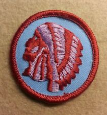 BSA  PATROL MEDALLION PATCH - INDIAN - 1972 - 1989 - PRE-OWNED   B00039