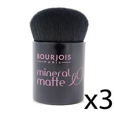 Brocha base Bourjois mate mineral kabuki suave cerdas espuma aplicador
