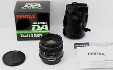 N MINT SMC PENTAX DA 35mm F/2.8 Macro Limited with Original Box Case From Japan