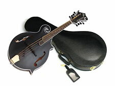 MICHAEL KELLY Legacy Satin Black Out acoustic MANDOLIN new Blem Special w/ CASE