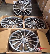 "22"" Staggered Wheels For Mercedes GL550 ML350 ML500 ML550 ML63 Rims Set Of (4)"