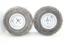 2003 Bombardier Rally 200 Rear Wheel Set Rims Tires