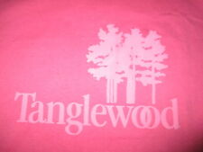 TANGLEWOOD Lenox MASS Music Venue (LG) T-Shirt Boston Symphony Orchestra PINK