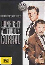 GUNFIGHT AT THE O.K. CORRAL - NEW & SEALED R4 DVD (BURT LANCASTER, KIRK DOUGLAS)