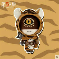 Official Identity V Longing Tiger Eli Clark 32cm Plush Doll Keychain Doll Toy
