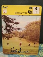 HALE IRWIN SIGNED 1978 SPORTSCASTER CARD/  PGA
