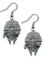 Star Wars Millennium Falcon Dangle Earrings W/Gift Box Han Solo Superhero / Hero