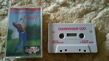Championship Golf Video Game Cassette Commodore 64 C64/C128 💜💜💜 FREE POST