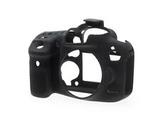 easyCover Silicone Skin Camera Armor Case to fit Canon EOS 7D MkII DSLR - Black