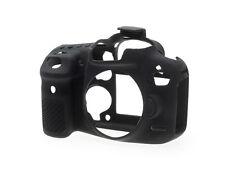 EasyCover Silicona Skin Camera Armor Funda Para Adaptarse A Canon Eos 7d Mkii Dslr-Negro