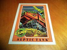 Septic Tank # 6 - GI Joe Series 1 Impel Hasbro 1991 Base Trading Card
