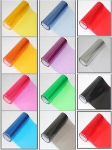 200mm-10m Car Headlight Taillight Tint Film Vinyl Wrap Vehicle Fog Light Sticker