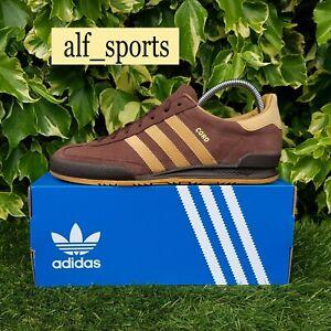 ❤ BNWB & Genuine adidas originals ® Cord Retro Trainers Auburn Suede UK Size 10
