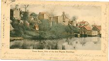 TOWN BROOK Plymouth Massachusetts USA Small Sized Vintage Colour PC 1903