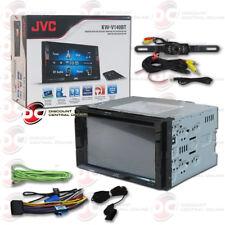 "JVC KW-V140BT CAR 2-DIN 6.2"" DVD CD BLUETOOTH STEREO FREE LICENSEPLATE CAMERA"